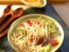 Noodle Soup with Cabbage and Beef recipe