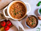 Noodles with Vegetable Sauce recipe