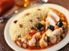 North African Chicken with Fluffy Grains recipe