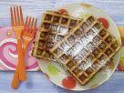 Nut Waffles with Honey recipe