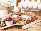 Oat, Berry Winter Muffins recipe