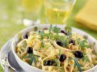 Olive and Arugula Pasta Bowl recipe