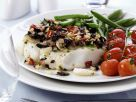 Olive and Tomato-topped Cod recipe