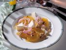 Orange Salad and Brie with Caramel Vinaigrette recipe