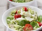 Orzo Salad with Chicken and Pesto recipe