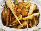 Oven-roasted Parsnips and Carrots recipe