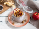 Overnight Oats with Apple and Walnuts recipe