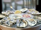 Oysters Served in a Half Shell with White Pepper recipe