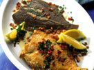 Fried Flounder with Bacon recipe
