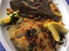 Pan-fried Flounder with Bacon recipe