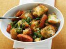 Panzanella Salad with Tomato and Pesto recipe