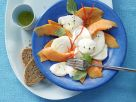 Papaya and Mozzarella Carpaccio recipe