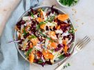 Papaya Salad with Gorgonzola Dressing recipe