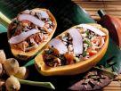Papaya Stuffed with Coconut Rice recipe