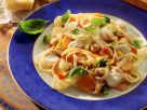 Pappardelle with Cod and Vegetables recipe