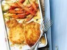 Parmesan Schnitzel with Carrots recipe