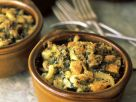 Pasta Gratins with Cheese and Herbs recipe