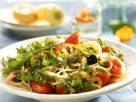 Pasta Salad with Arugula and Vegetables recipe