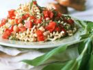 Pasta Salad with Chickpeas recipe