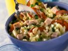 Pasta Salad with Smoked Pork and Vegetables recipe