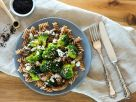 Pasta with Broccoli, Mushrooms and Feta recipe