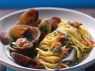 Pasta with Garlic Clams recipe