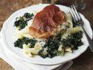 Pasta with Kale and Prosciutto recipe