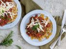 Pasta with Lentil Bolognese recipe