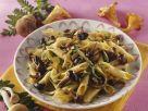 Pasta with Mushrooms and Zucchini recipe