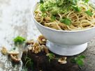Pasta with Parsley-Walnut Pesto recipe