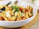 Pasta with Pepper and Cottage Cheese Sauce recipe