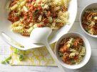 Pasta with Tomato-Walnut Bolognese recipe