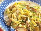 Pasta with Zucchini and Turkey Breast recipe