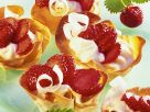 Pastry Shells with Strawberries recipe