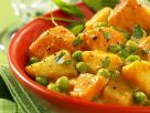Pea and Potato Curry recipe