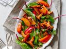 Peach and Mushroom Salad recipe