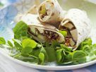 Pear, Hazelnut, Fig and Mozzarella Wraps recipe