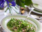 Peas and Bacon in Wine and Mustard Sauce recipe
