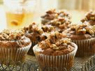 Pecan and Dried Fruit Cupcakes recipe