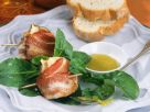 Pecorino Figs Wrapped in Bacon with Salad recipe