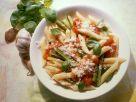 Penne with Tomato and Zucchini recipe