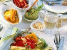 Pepper, Fennel and Zucchini Antipasti recipe