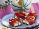Pepper Parcels with Feta and Melon Stuffing recipe
