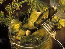 Preserved Mini Cucumbers recipe