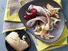 Pickled Herring on Apple and Onion recipe
