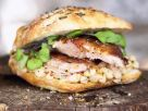 Pig Roulade and Bean Sandwich recipe
