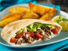 Pitas Stuffed with Ground Meat and Feta recipe