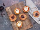 Pizza Minis for Halloween recipe