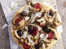 Spicy Sausage and Preserved Vegetable Flatbread recipe
