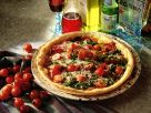 Pizza with Arugula and Bresaola recipe